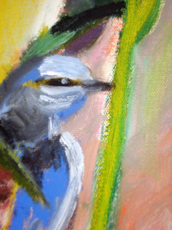 Mavi Kus(2) Detayi 1 (Blue Bird (2)) Detayi 1