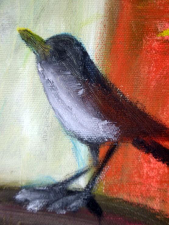 Serce Detayi 1 (Sparrow Detail 1)