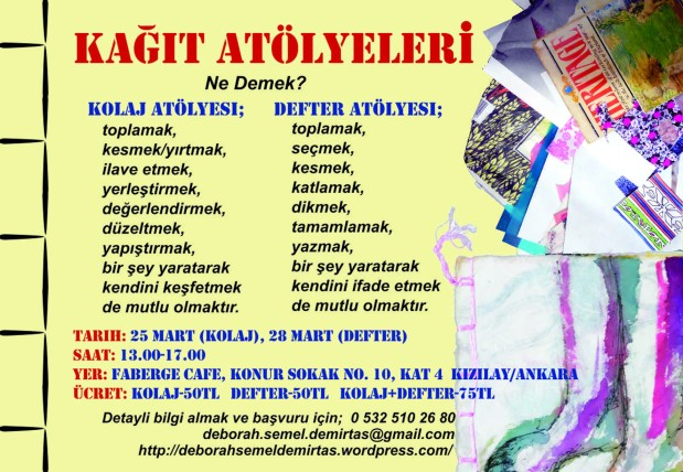 Paper Workshops in Ankara