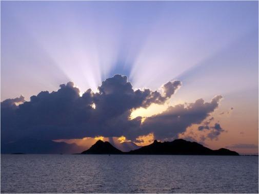 Catal sunset