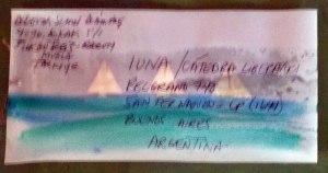 Mail Art Mi Barca 1