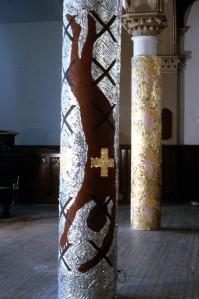 Column - brown man