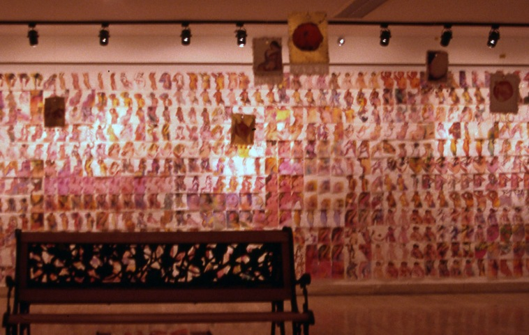 2000 women installation shot
