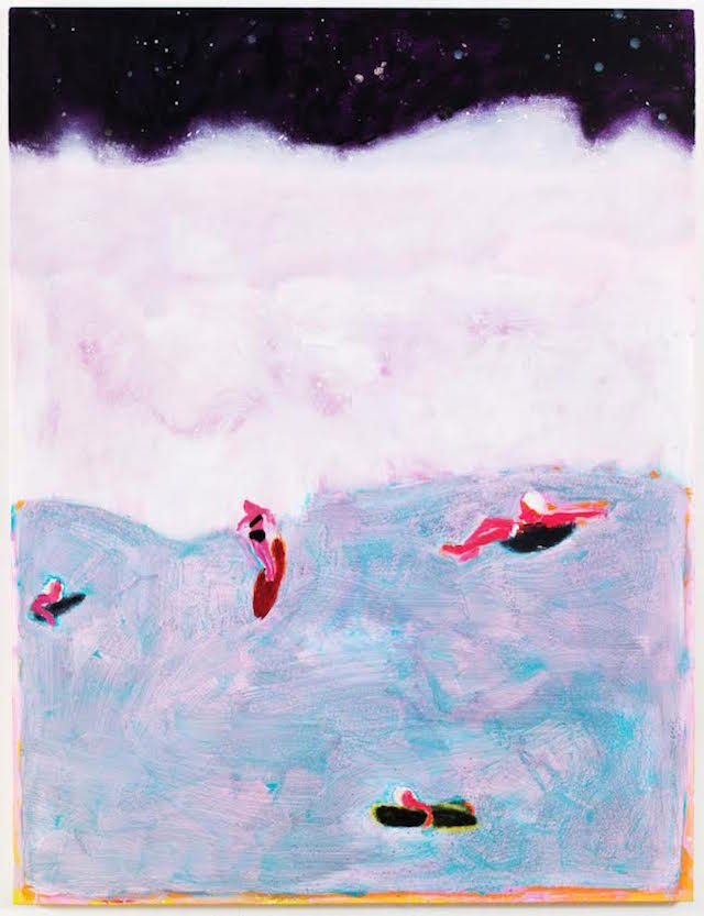 Katherine-Bradford-Surfer-2015-Acrylic-on-canvas-72-x-55-inches-182.88-x-139.70-cm