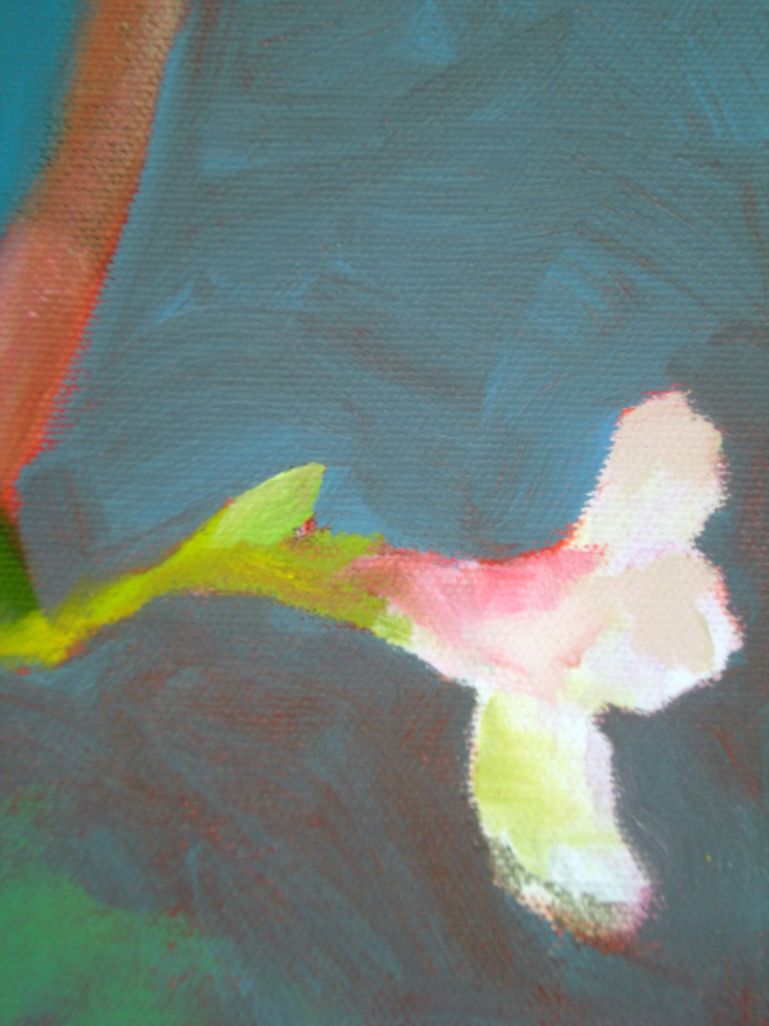 Zakkumda Kus Detayi 2 (Bird in Oleander Detail 2)